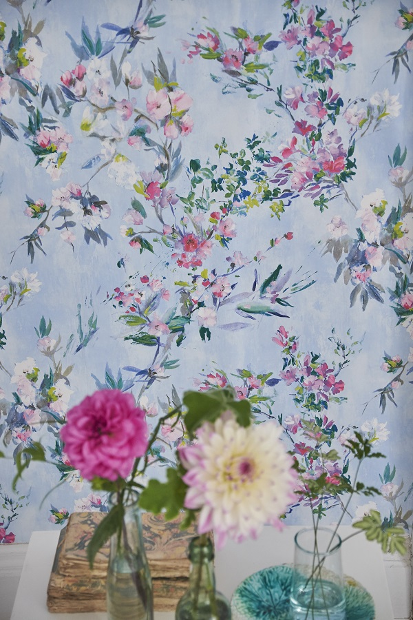 Flower Wallpaper from Designer's Guild