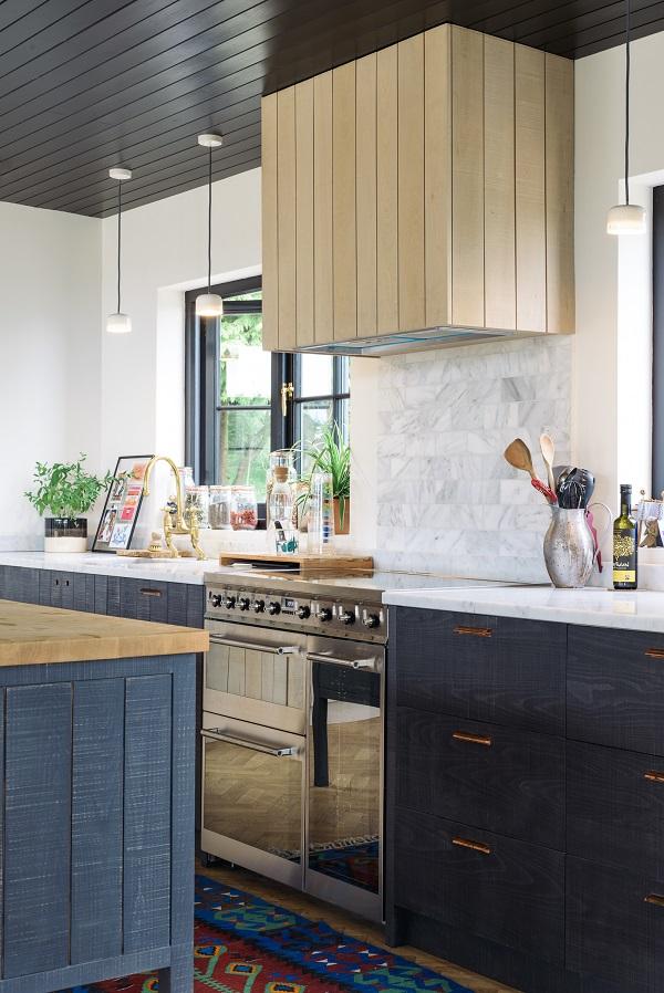 Sebastian Cox Kitchen by deVOL - open plan barn living