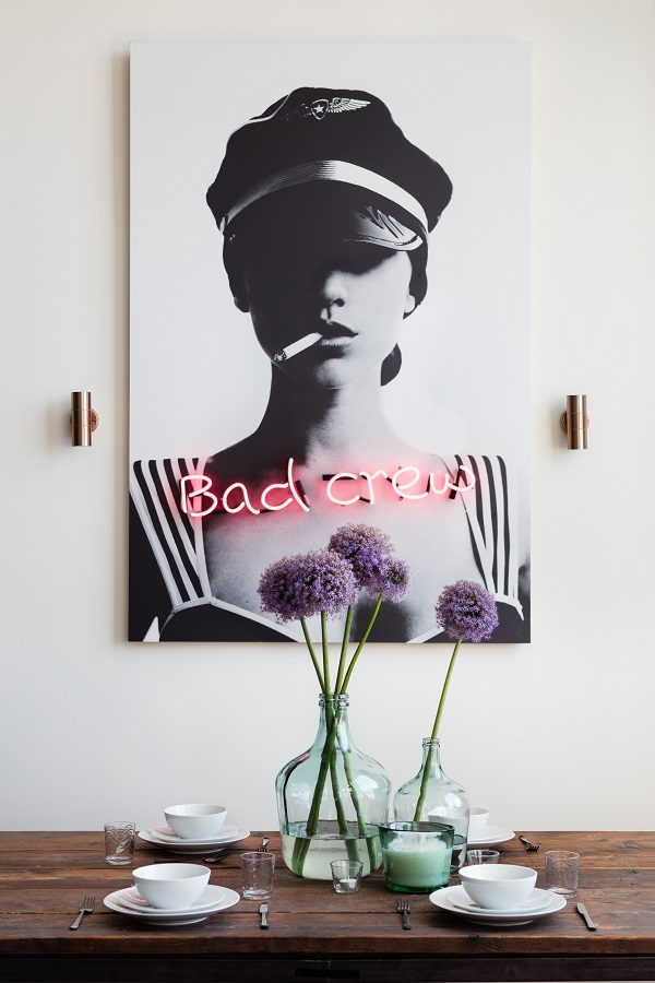 Bachelor Pad Essential - Neon Art