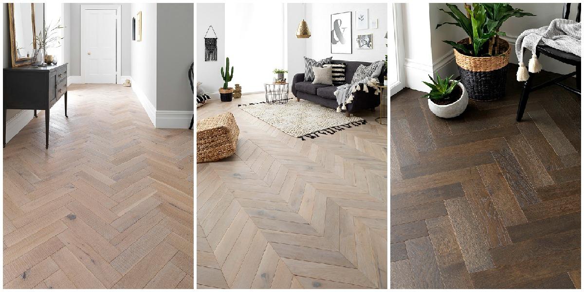 Beautiful Parquet Wood Floor