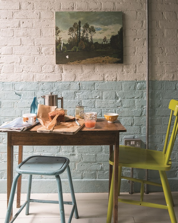 Interior Design Tricks - Hang a piece of art you bought on holiday