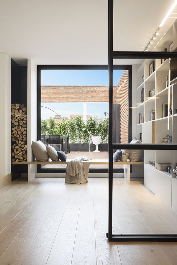 A Contemporary Penthouse in Barcelona by Susanna Cots