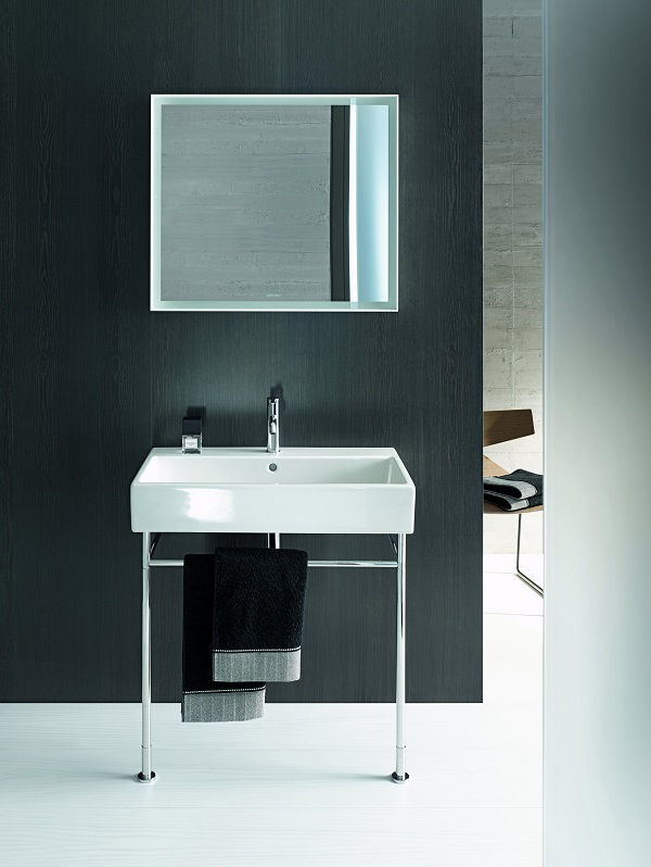 bathroom trends - a monochrome colour scheme