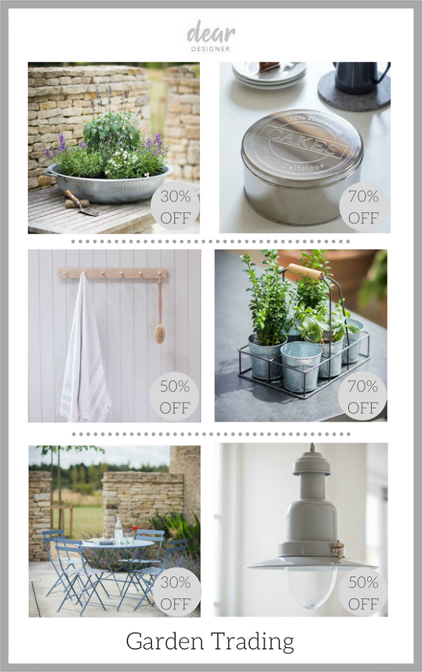 Homewares Bargains from Garden Trading