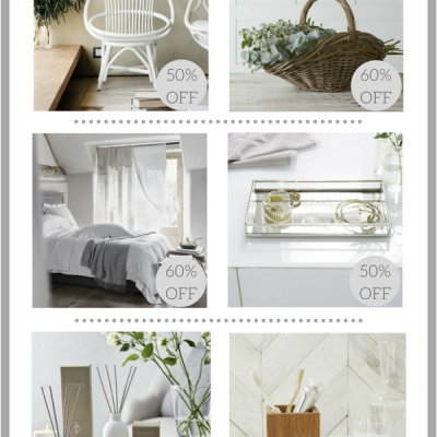 Homewares Bargains from The White Company