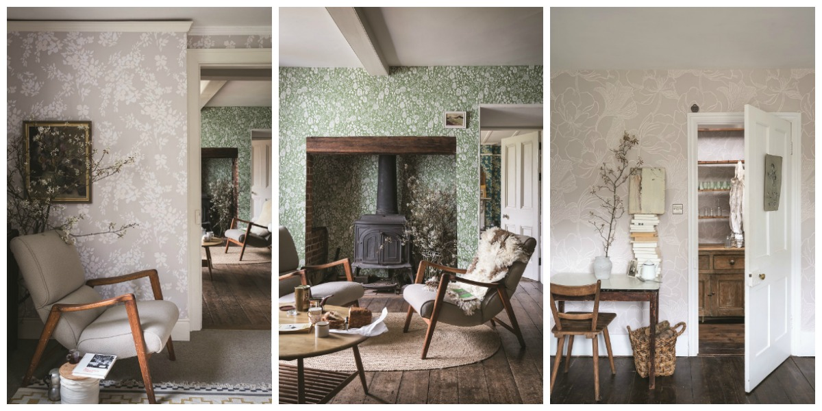 New: Captivating Floral Wallpaper Designs from Farrow & Ball
