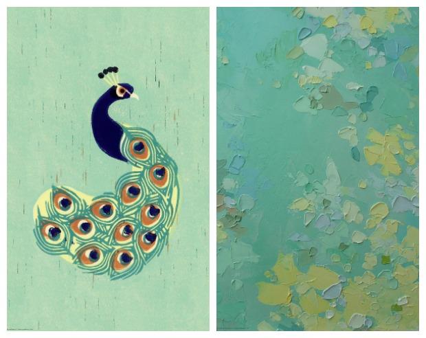 ikea today - exotic prints