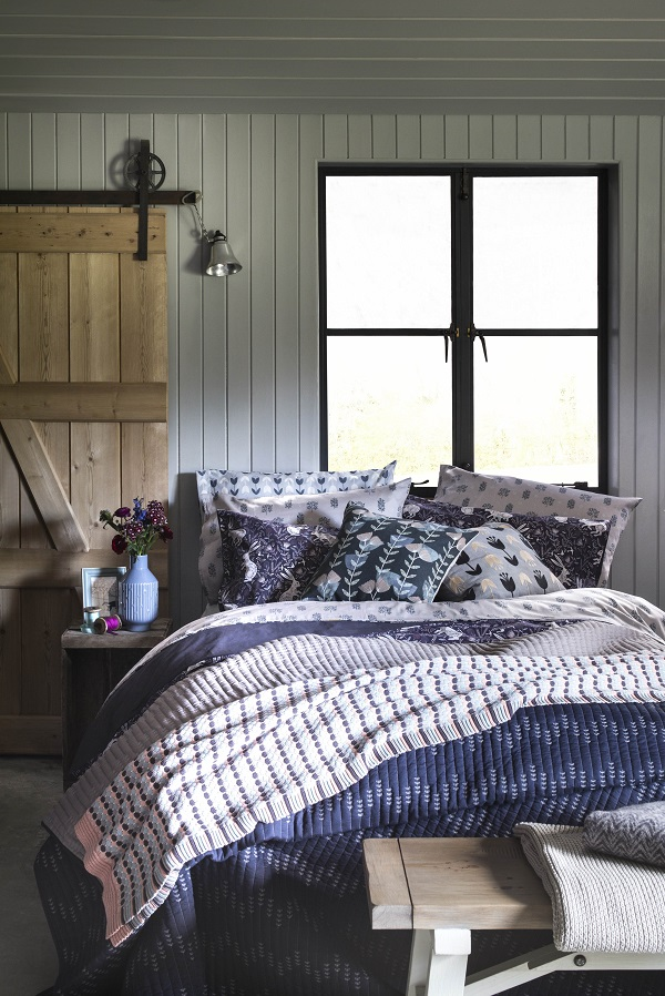 Bedroom personality type - Crafty and Homespun