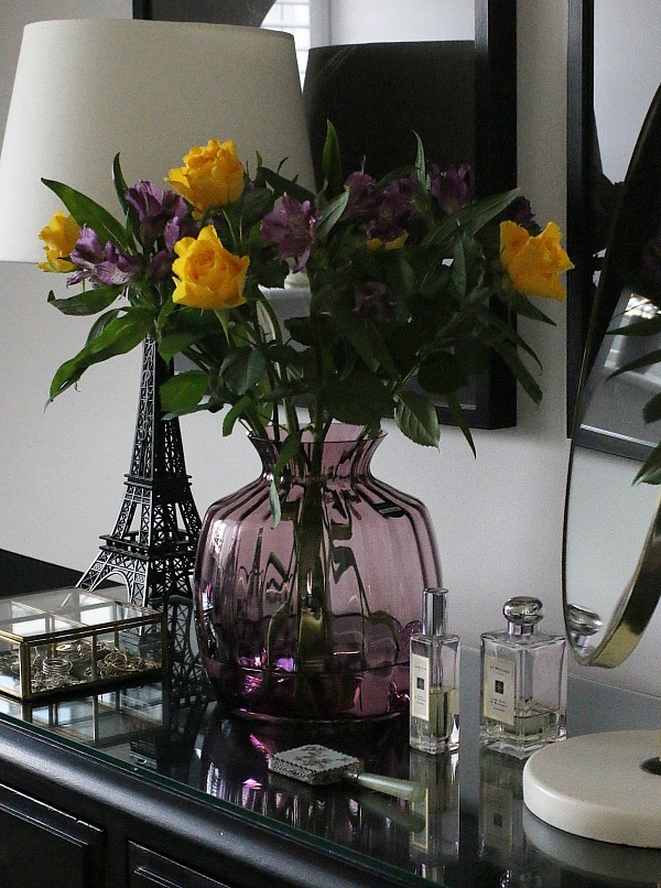 Essential Home Accessories - boxes and flowers