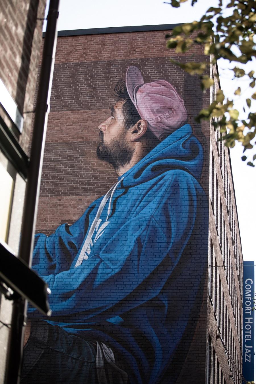 West Sweden, Street Art in Boras, ©Robert Dahlburg