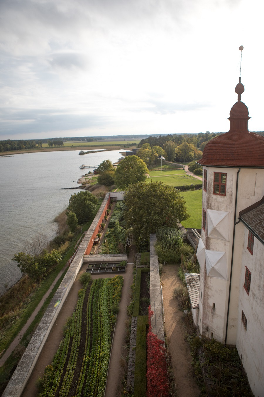Lacko Castle - West Sweden - garden