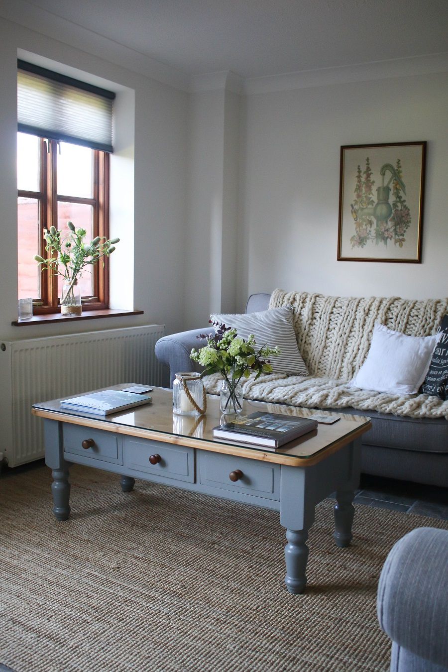 Autumn updates for a cosy sitting room at our Country Cottage