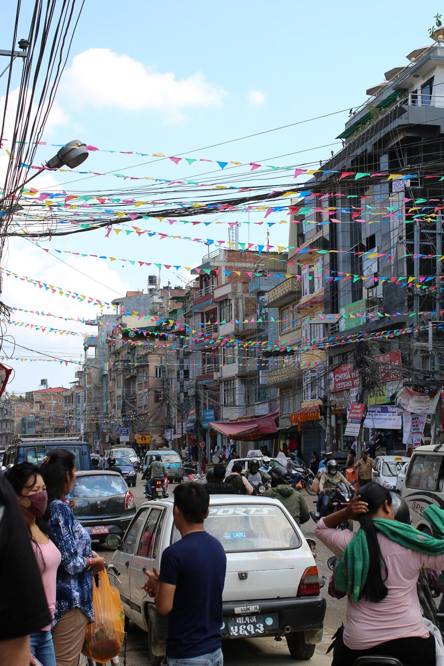 Nepal. On the Streets of Kathmandu