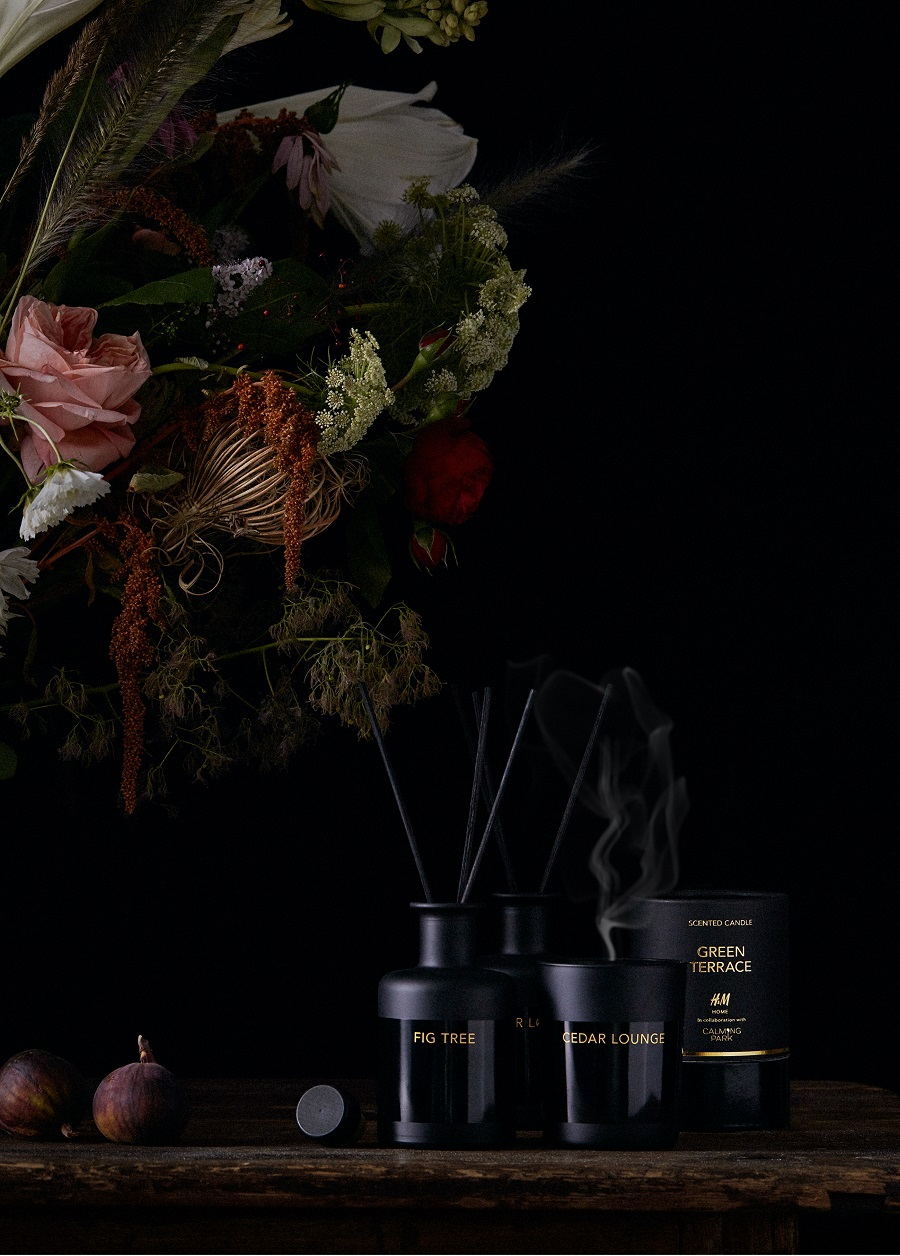 Christmas Styling at H & M Home 2017 - don't forget to scent your home