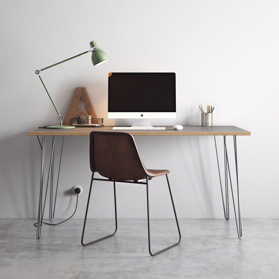 The Hairpin Leg Table or Desk