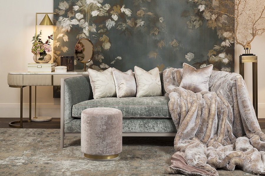 pastel hues aka the new feminine from The Sofa and Chair Co