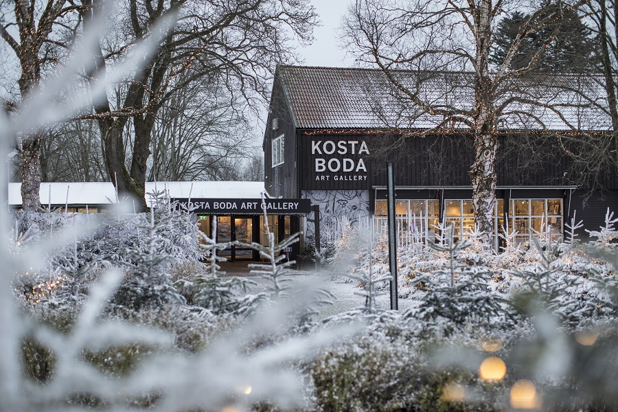 Introducing the Småland Region of Sweden - Kosta Boda Art Gallery