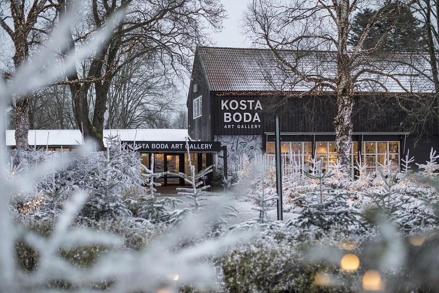 Introducing the Småland Region of Sweden - Kosta Boda Art Gallery