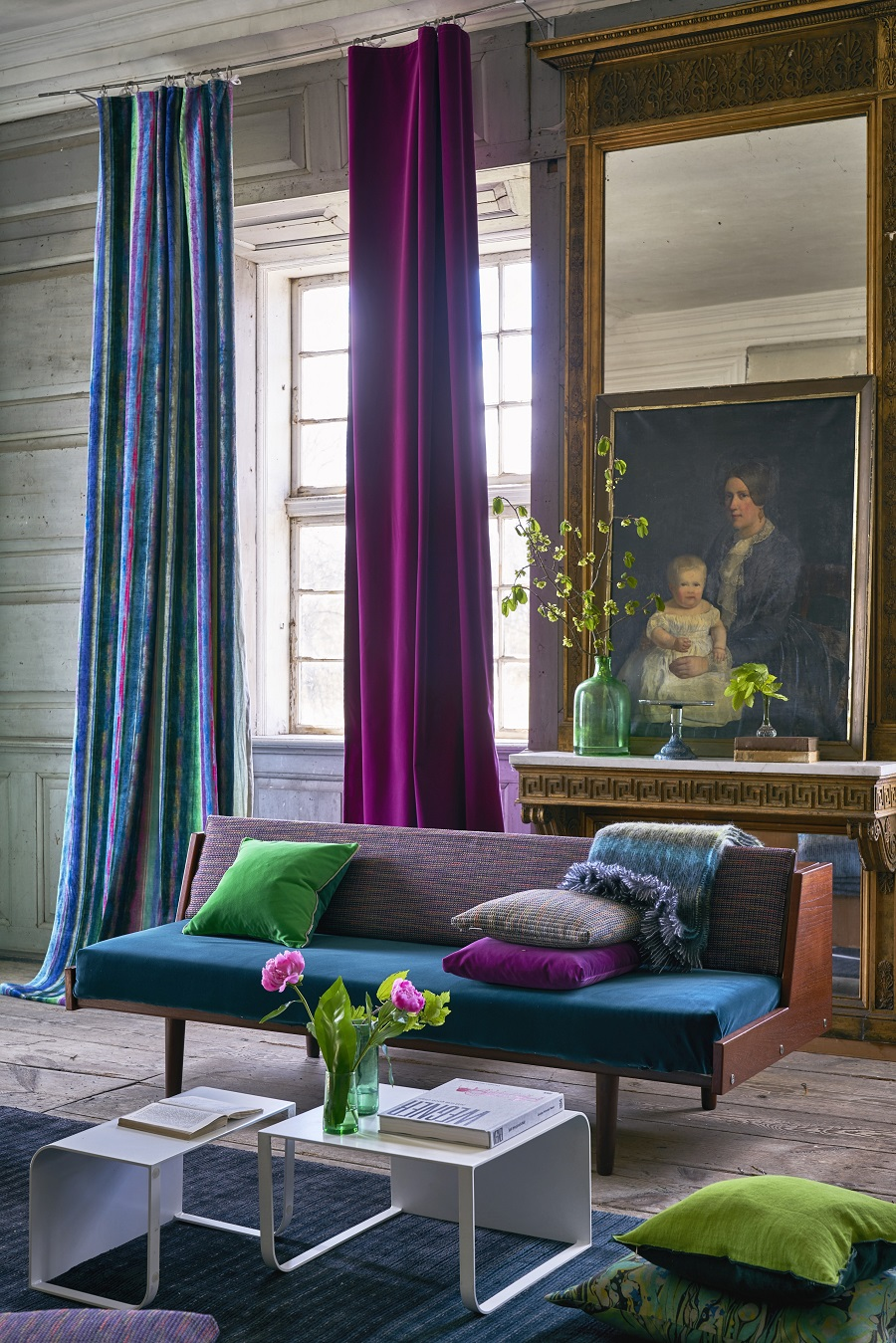Pantone's Ultra Violet Colour of the Year 2018 and How to Use It - fabric choices