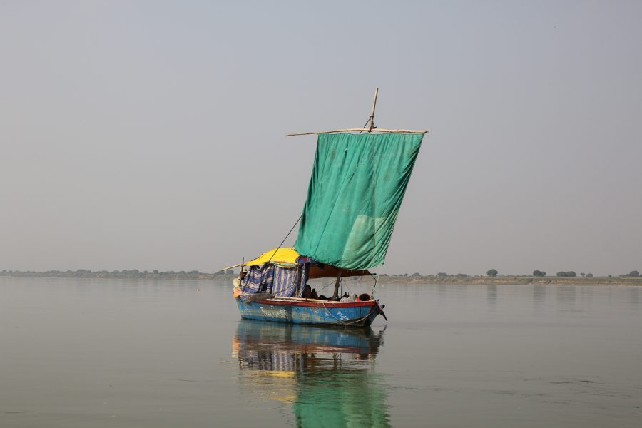 On the Ganges, India