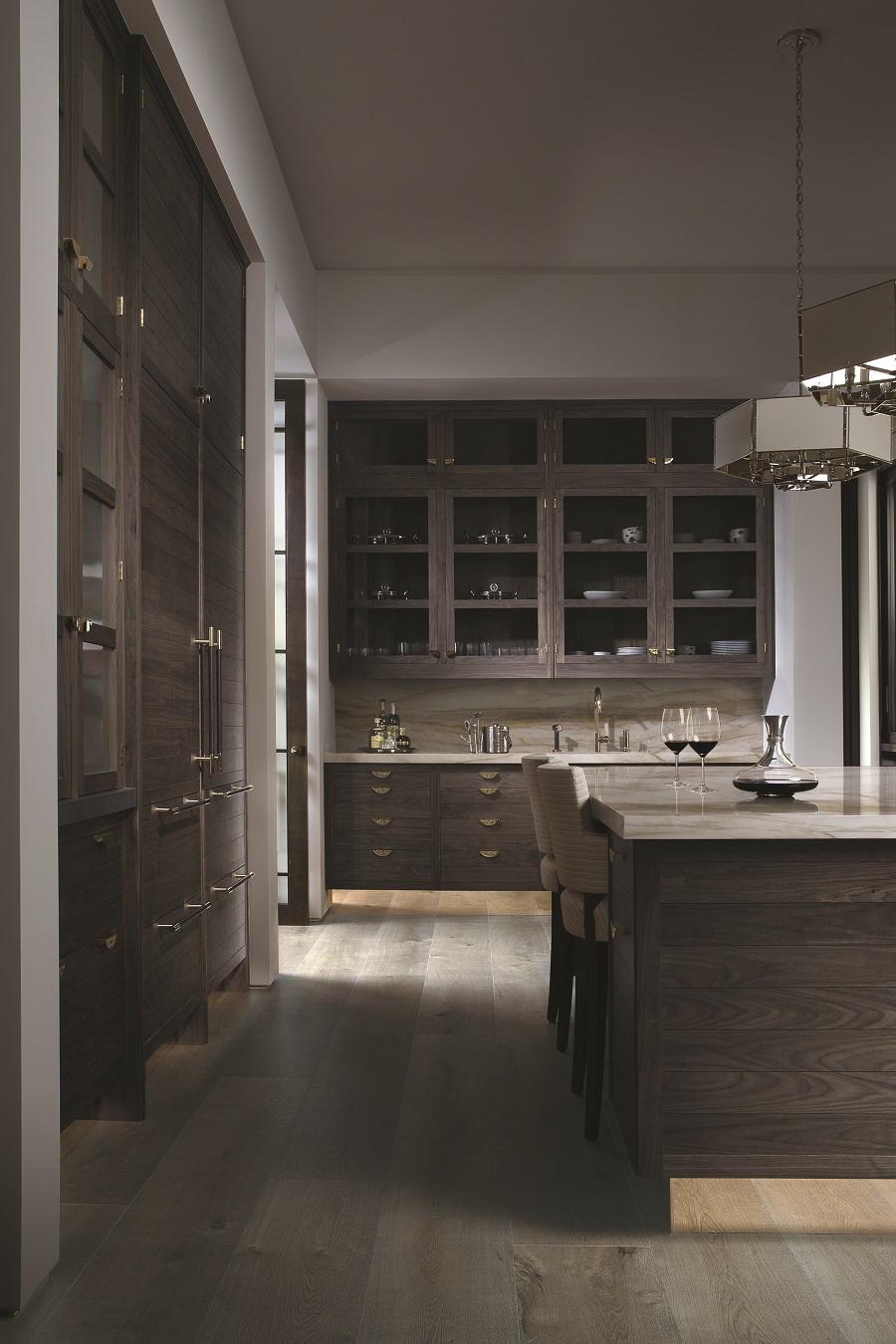 Kitchen Trends - Wood grain - sleek and elegant