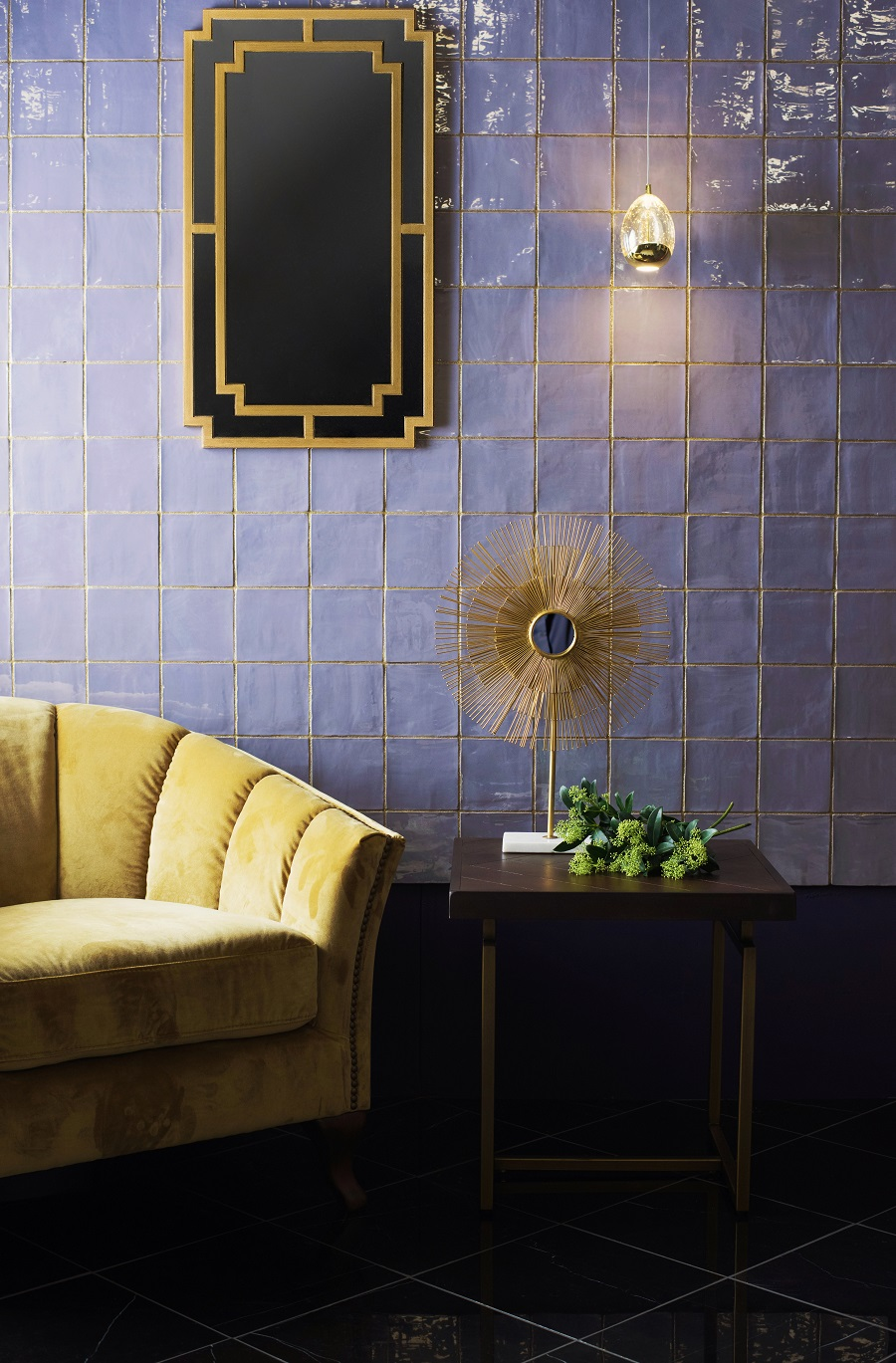 New Tile Trends - Opulent Glazes