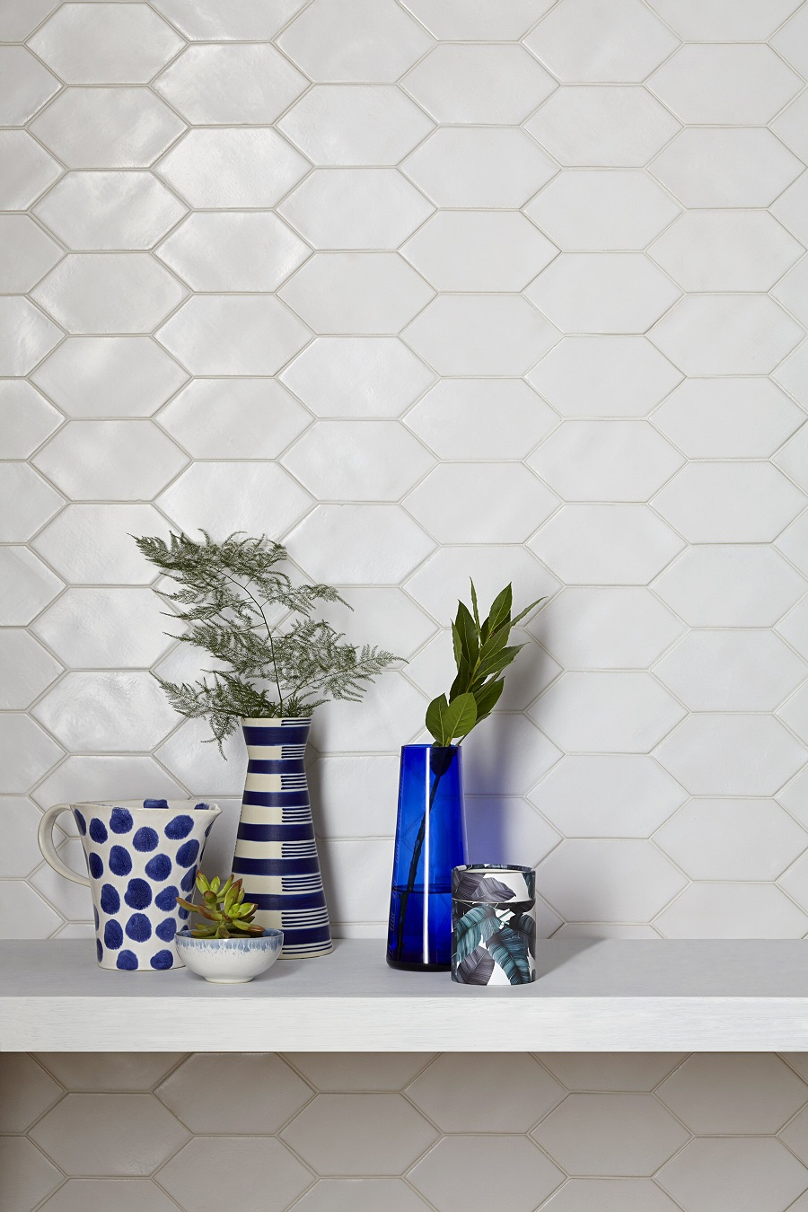 new wall tiles - ice, ice, baby