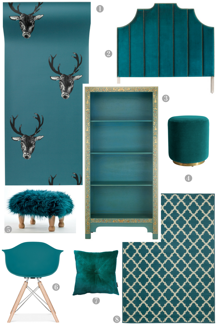Accents of Teal