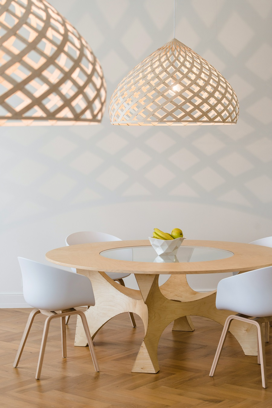 woven lampshades - go large