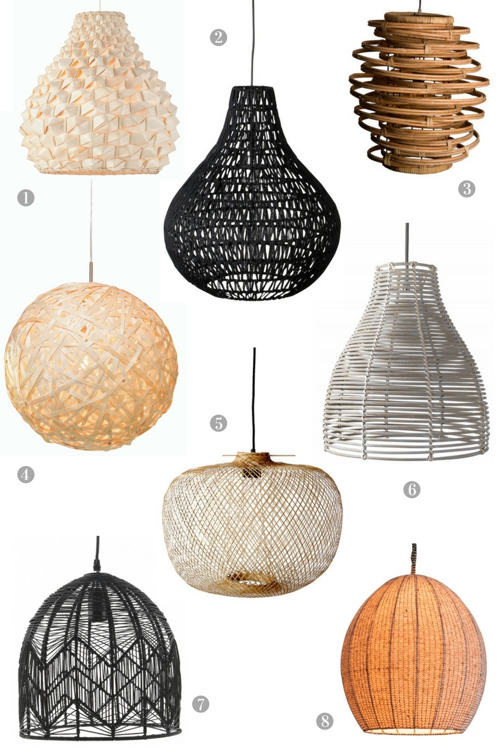 Woven Lamp Shades - The Best of the Bunch