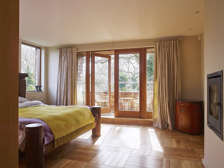Open-Plan Living - bedroom