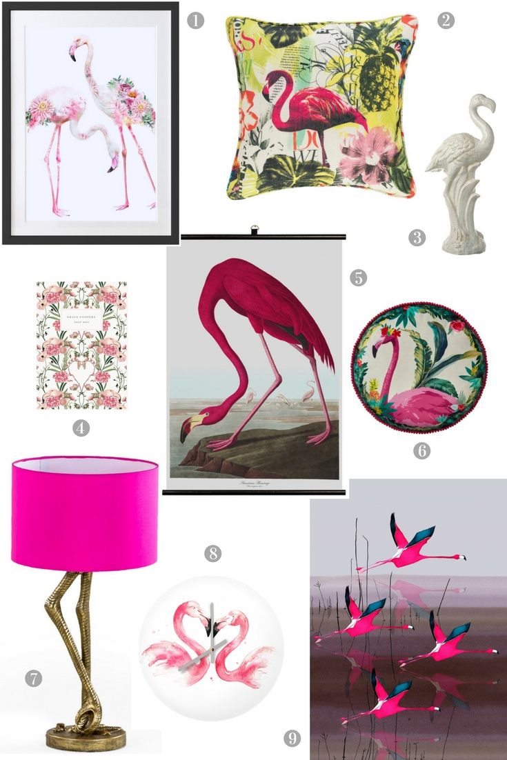 Pretty Flamingo Home Accessories