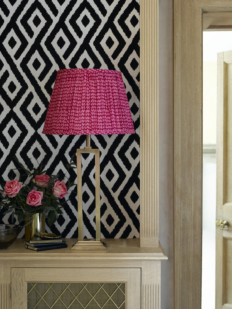 A new table lamp is the perfect excuse to experiment with colour