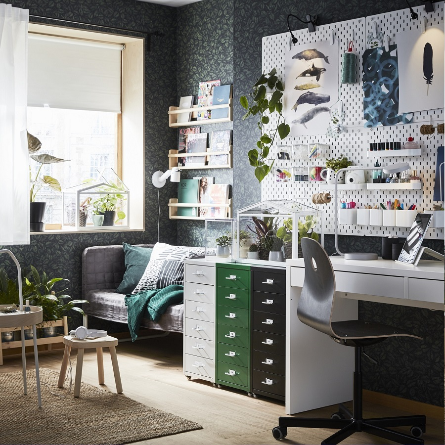your home office. Boost Your Home Office Health With Plentiful Plants