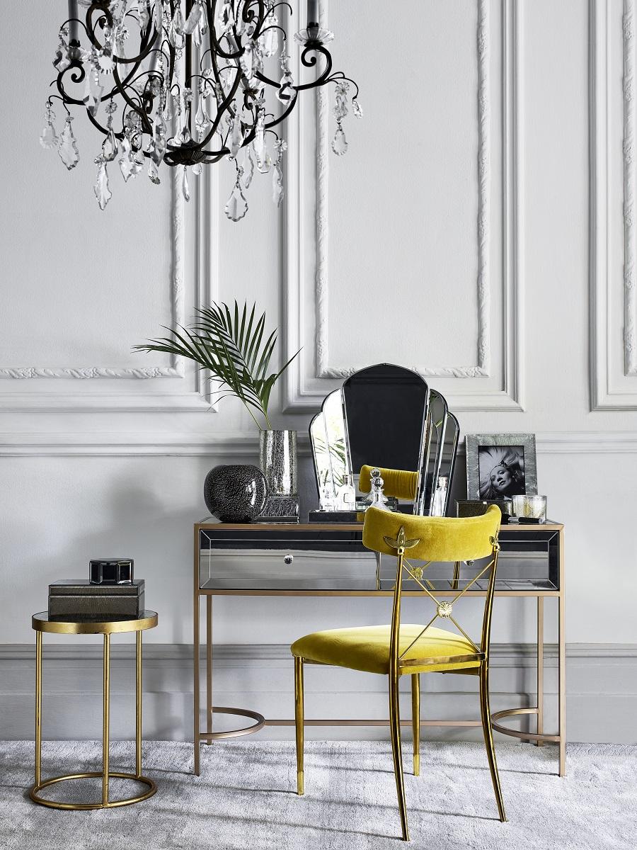 Dressing table goals - art deco and velvet