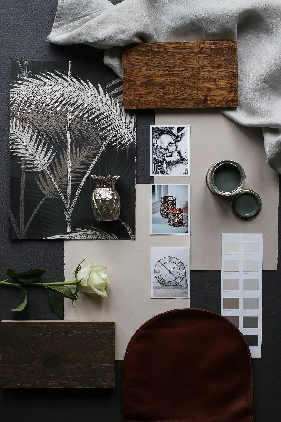 The interior design process and the importance of a moodboard