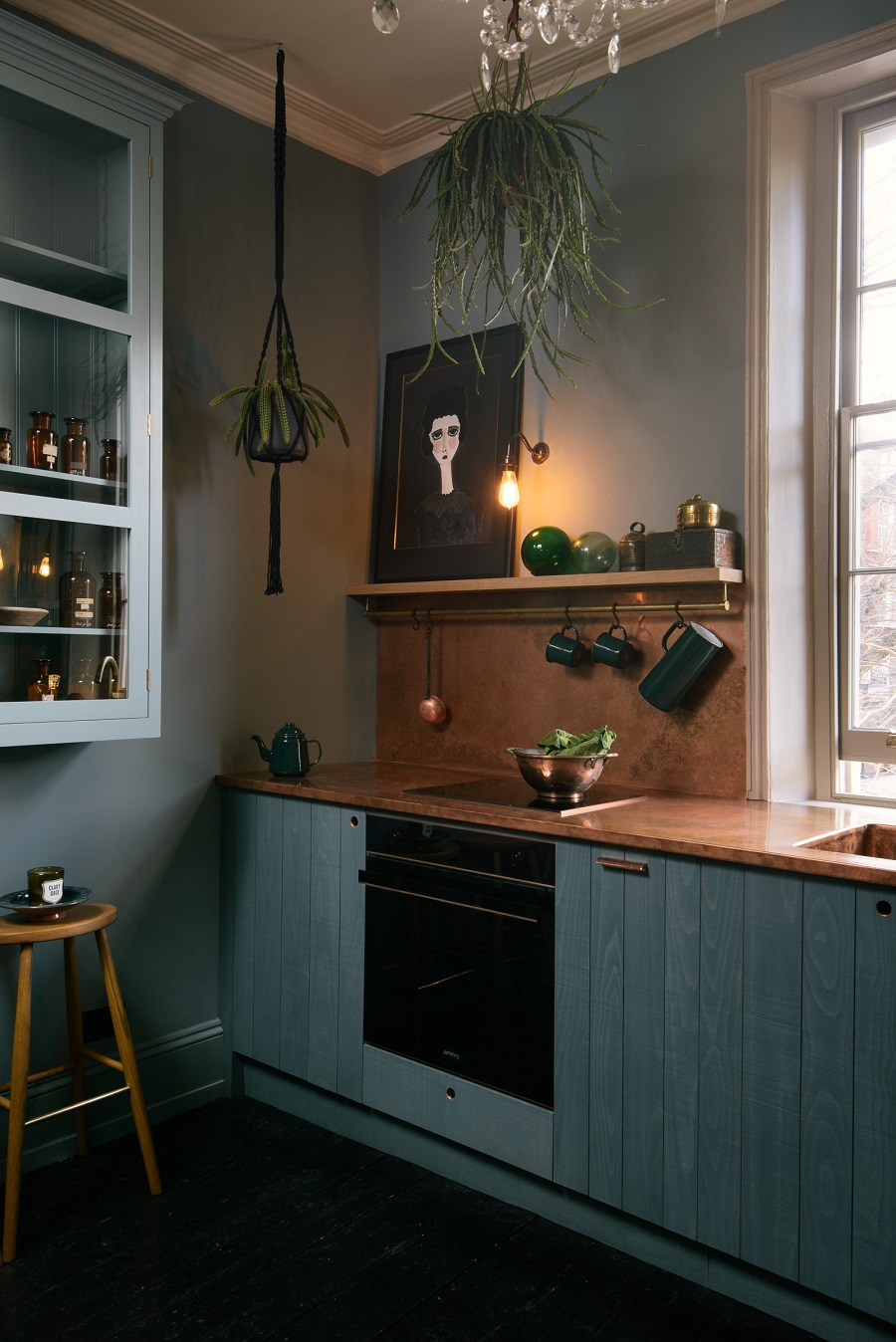 The Latest Stunner in a Regency London Townhouse From deVOL Kitchens