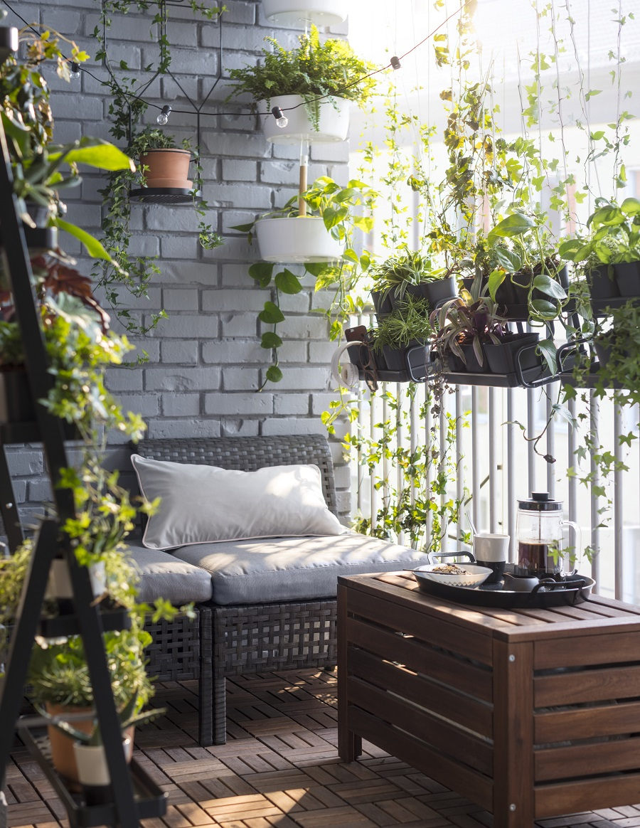 A Balcony can be a calm oasis in an urban landscape