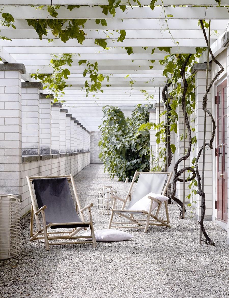 Get the garden summer ready with the Broste Copenhagen new summer rattan and bamboo range of garden furniture