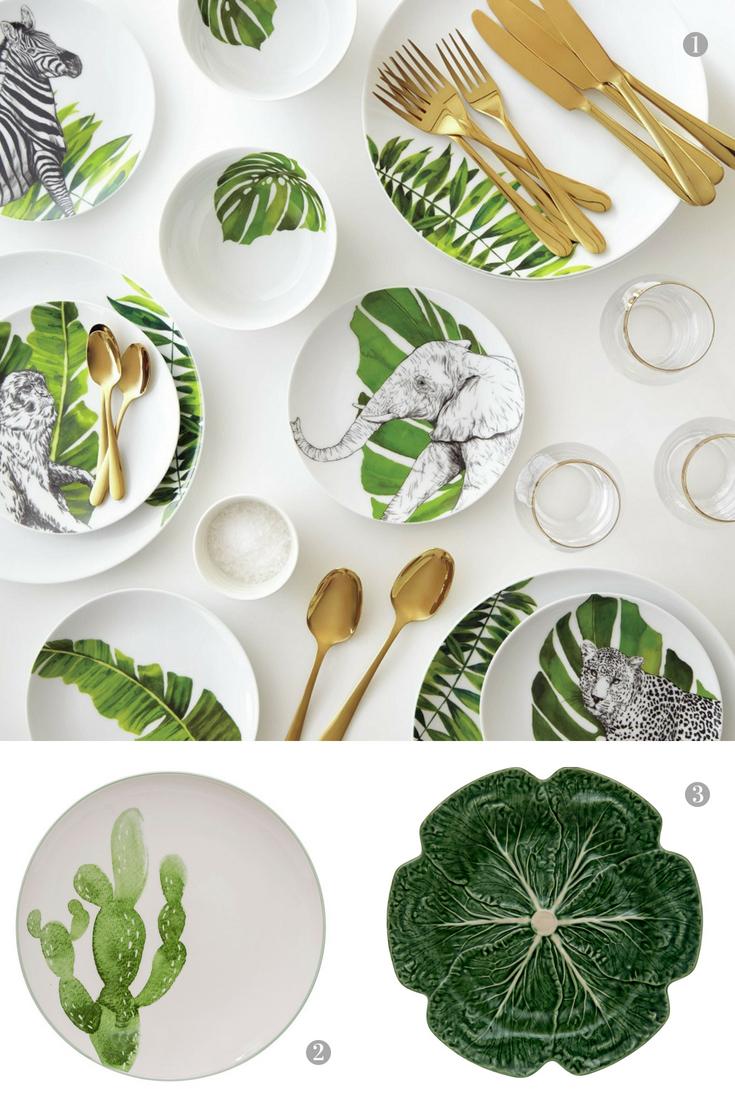 Botanical Inspired Tableware