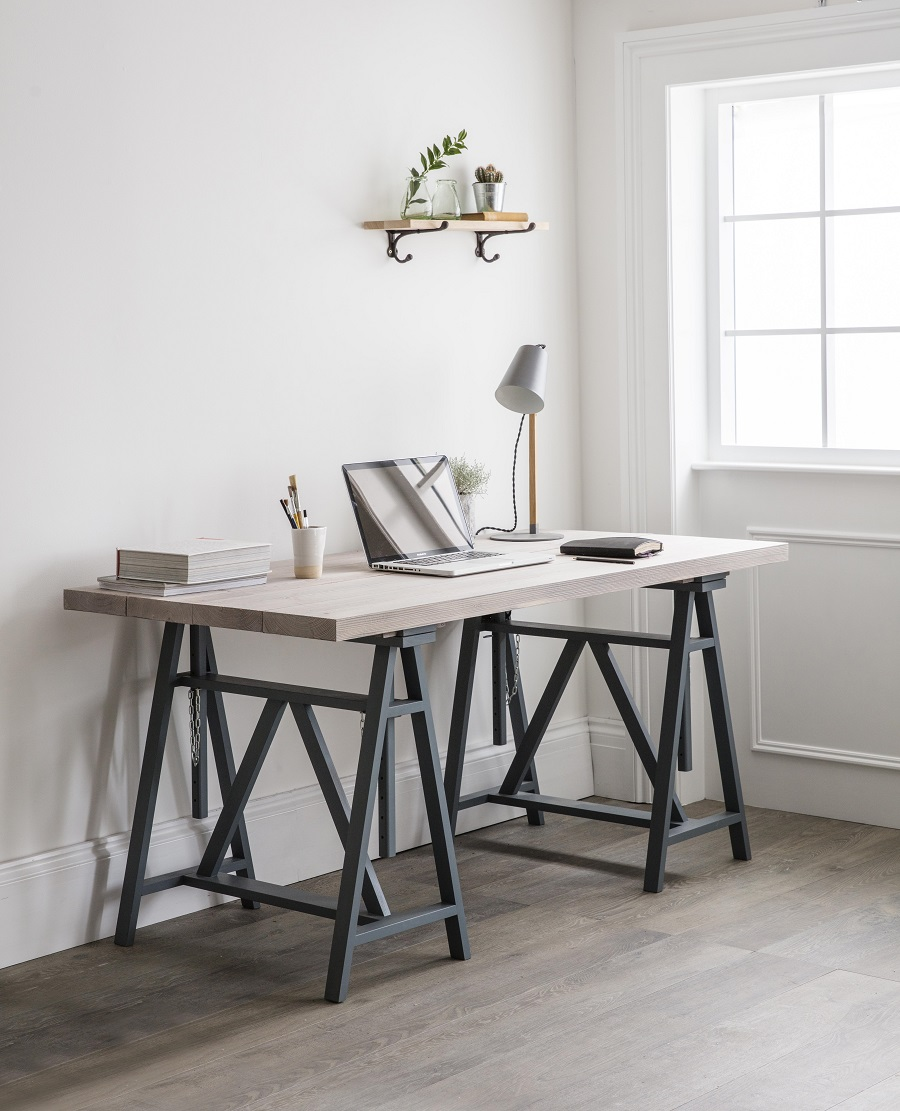 Uncluttered Homewares - the trestle desk