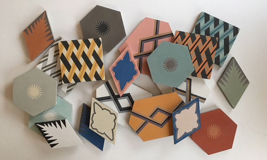 The New Jigsaw Tiles by Neisha Crosland