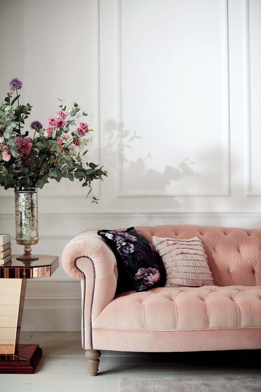 Sofa Colour Choice - blush pink
