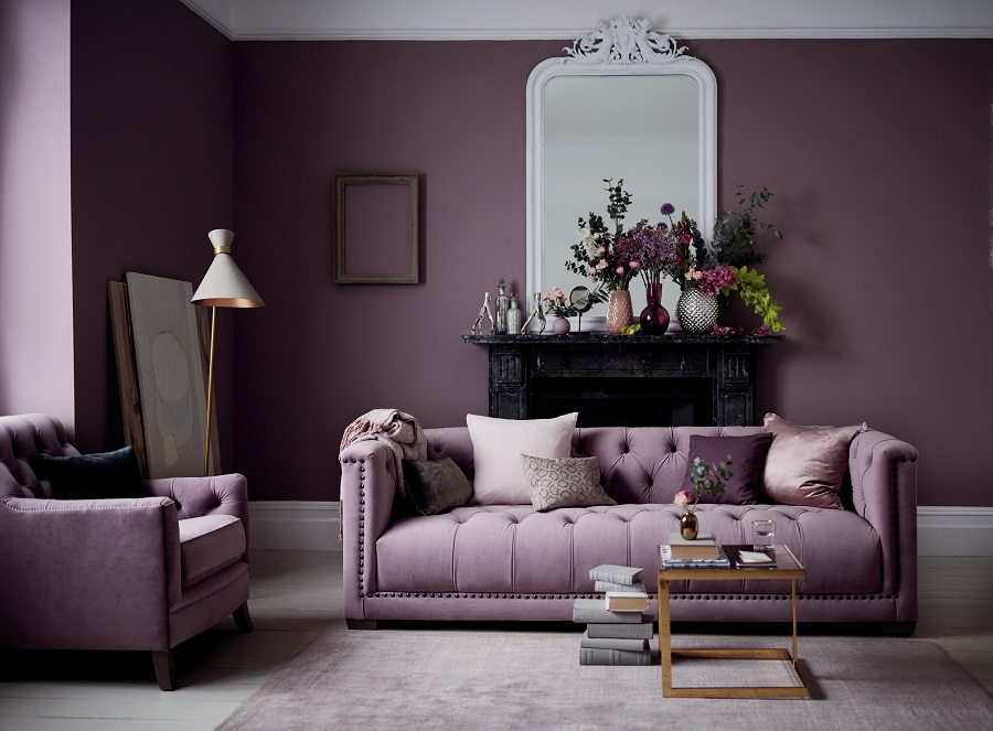 Sofa Colour Choice - Purple