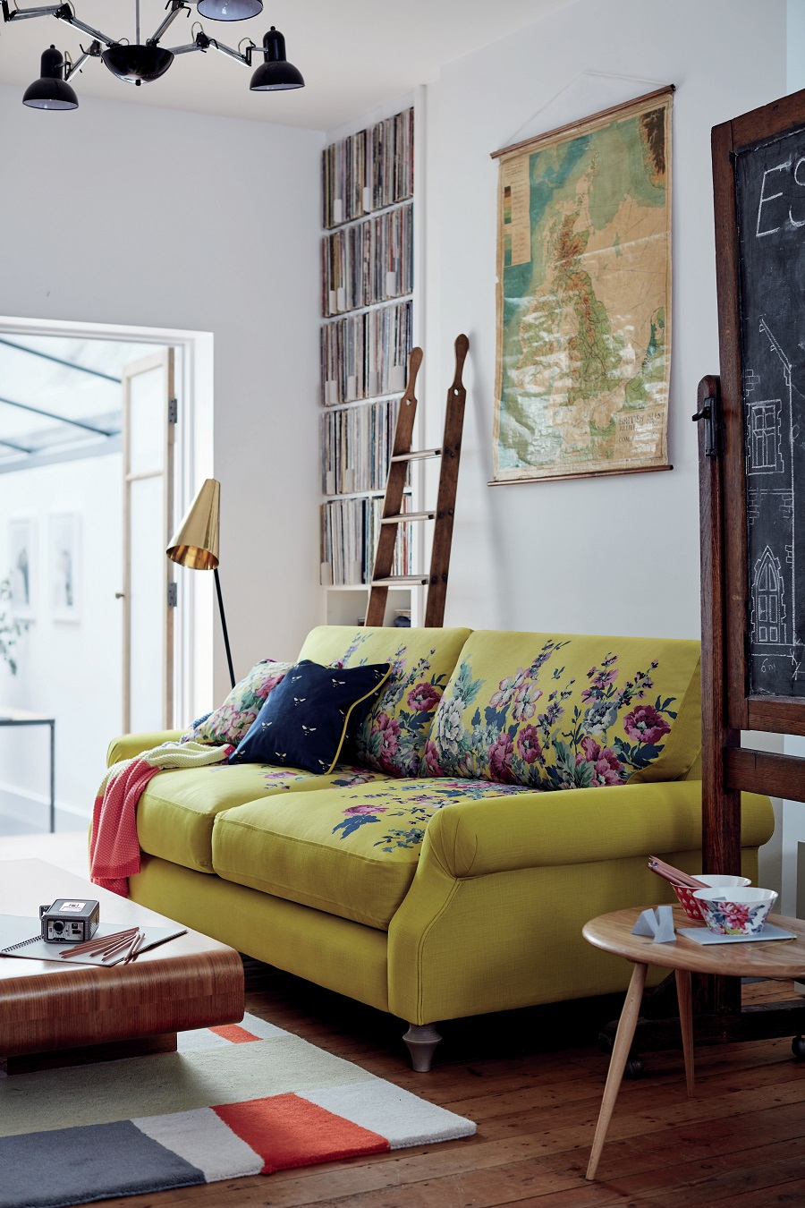 Sofa Colour Choice - yellow