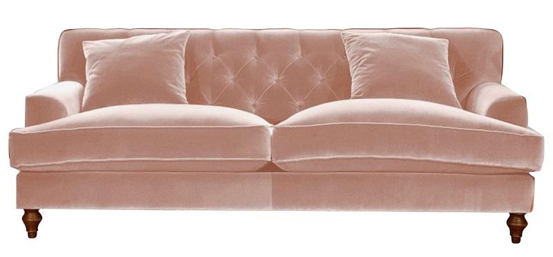 Stunning Sofa Design in blushing pink