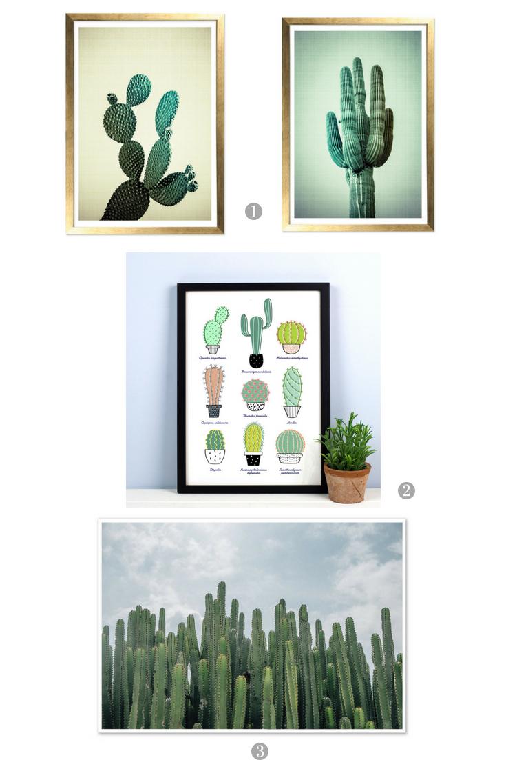 Cactus Framed Prints