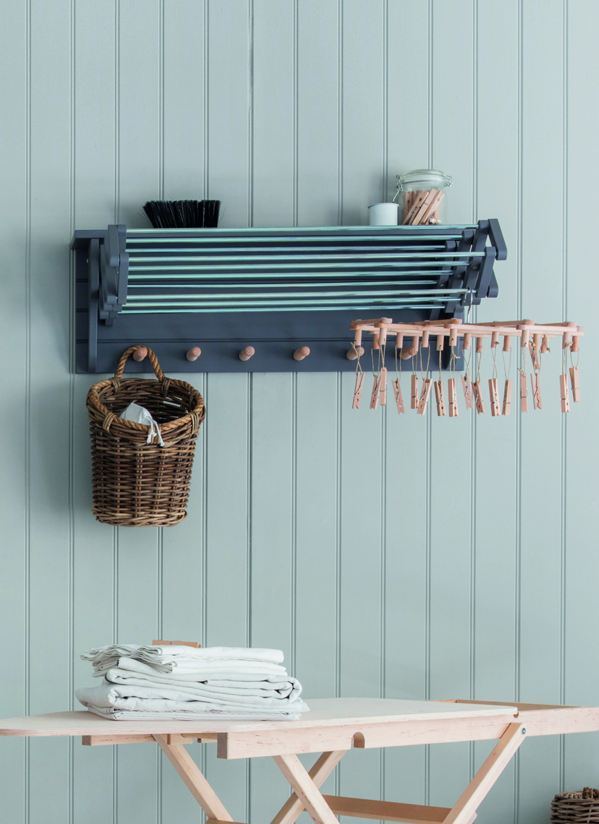 Nifty Wall Storage Ideas for Small Space Living - the laundry room