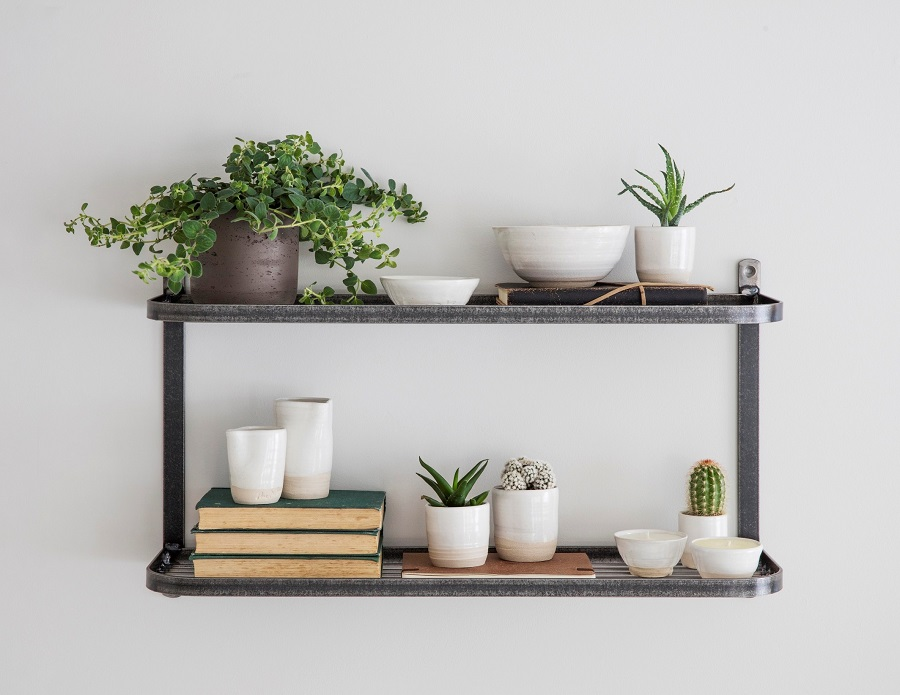Nifty Wall Storage Ideas for Small Space Living - the kitchen