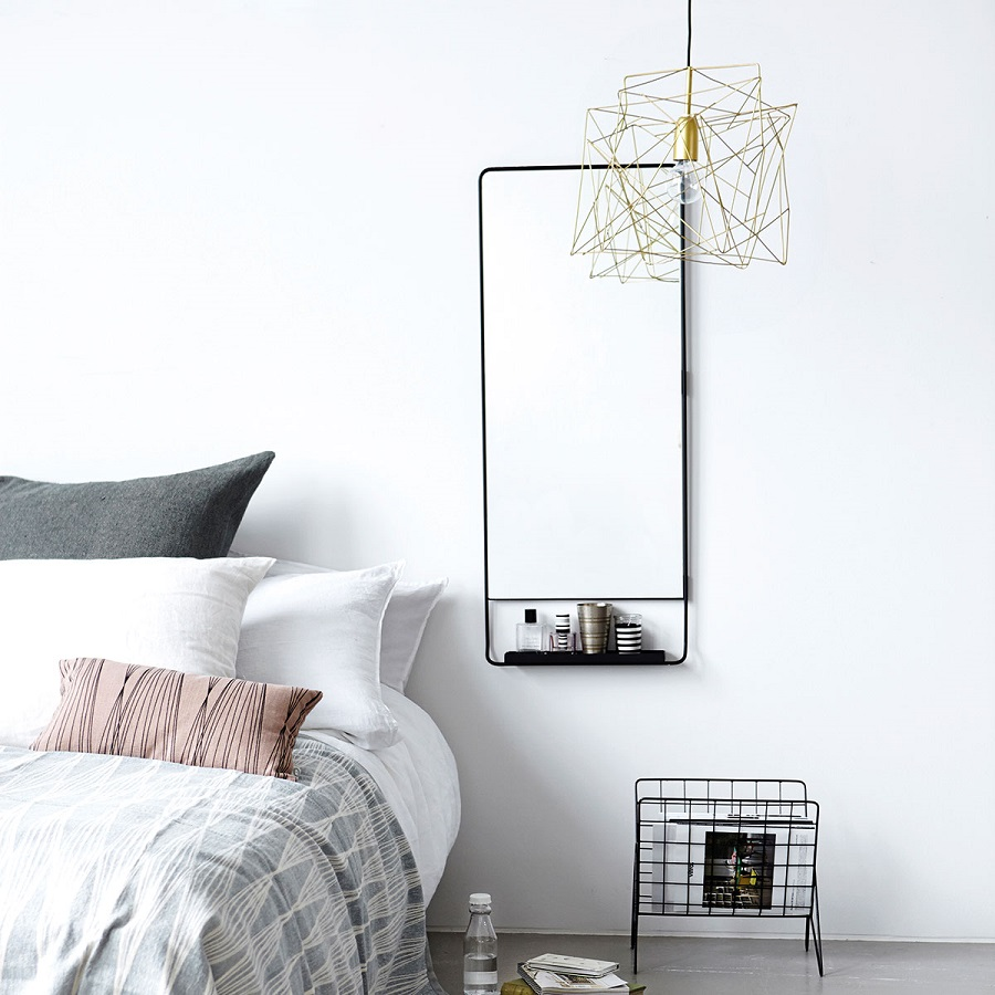 Nifty Wall Storage Ideas for Small Space Living - the bedroom